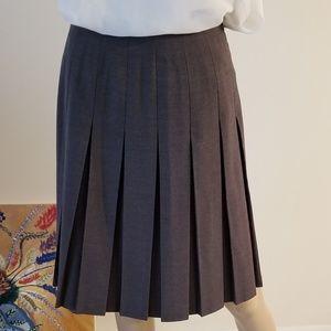 Hugo Buscati Pleat Skirt